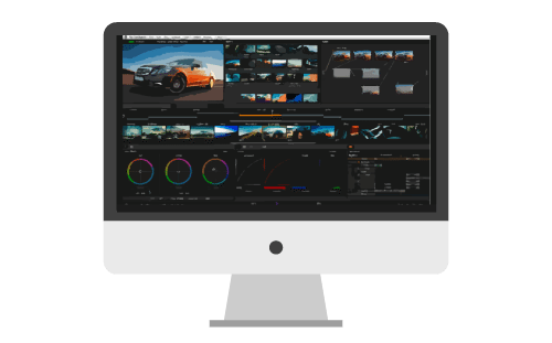 post production color grading