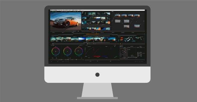 color grading and compositing