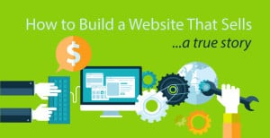 how to build a website that sells