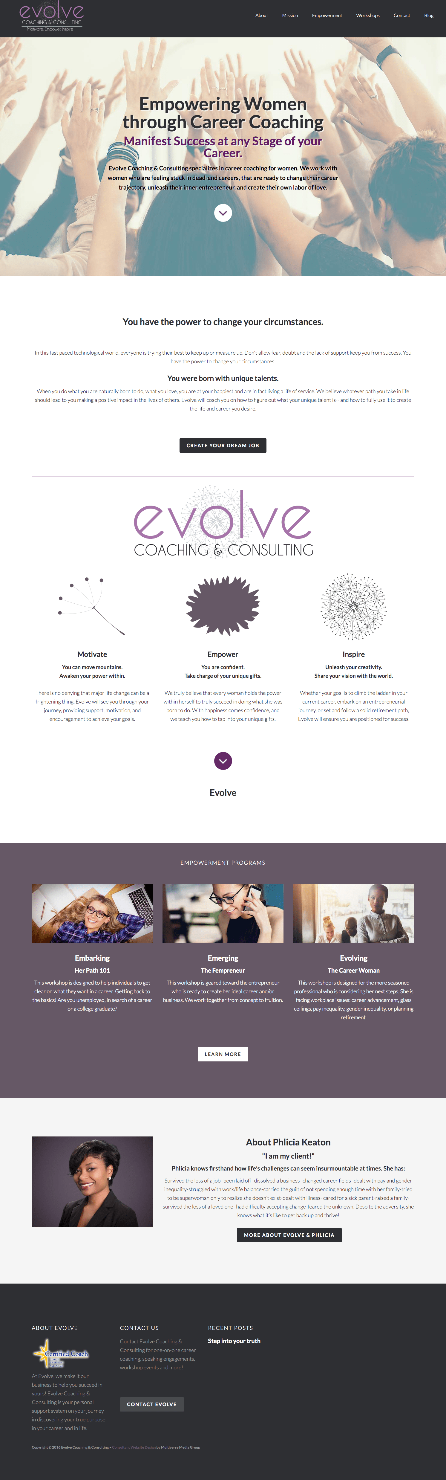 Evolve Coaching & Consulting