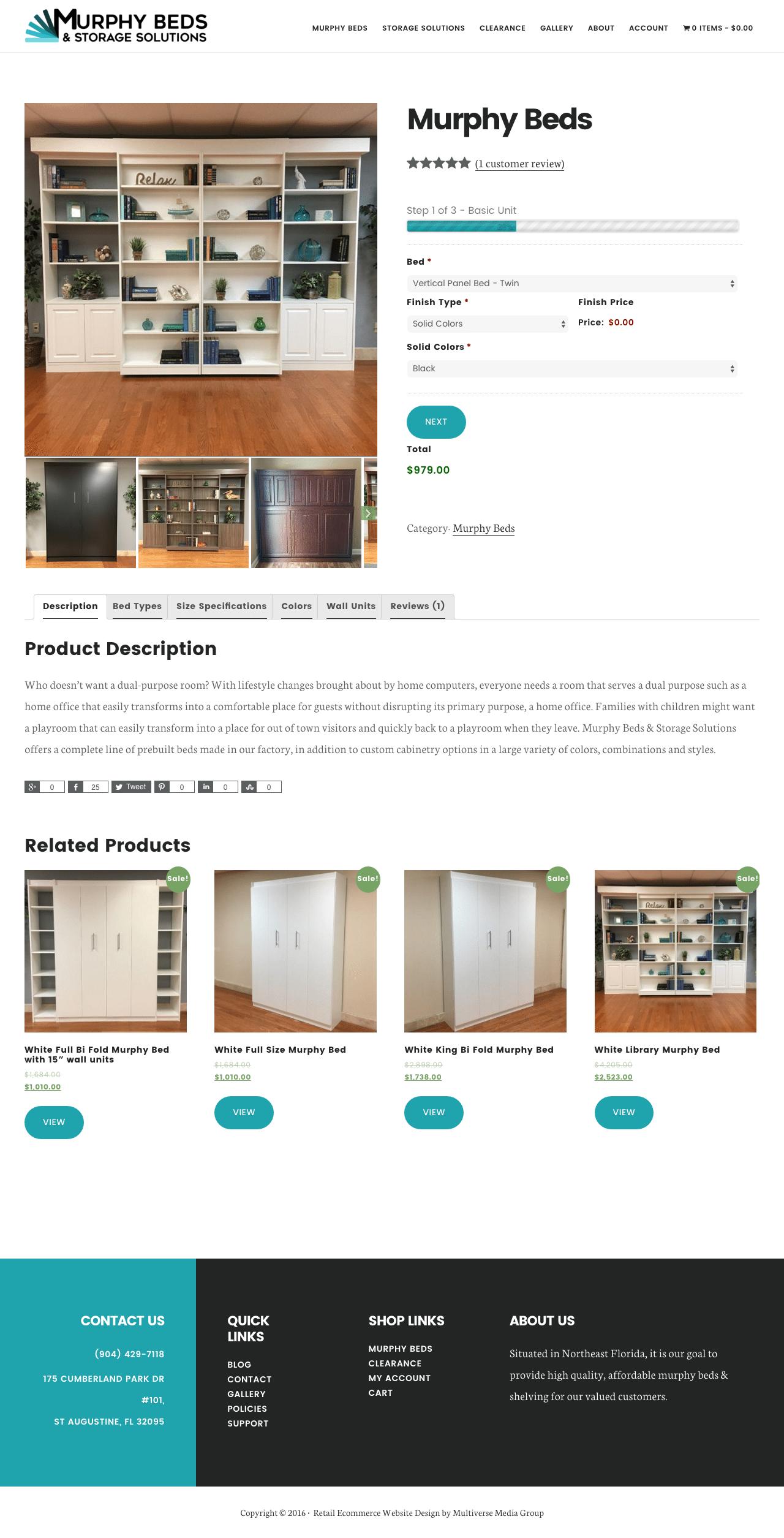 Murphy Beds & Storage Solutions Desktop
