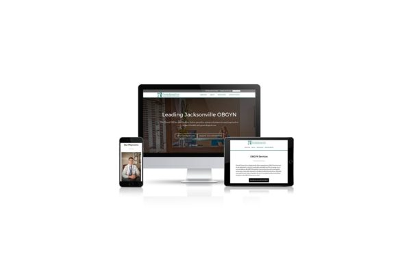 Florida Woman Care Website design and mobile