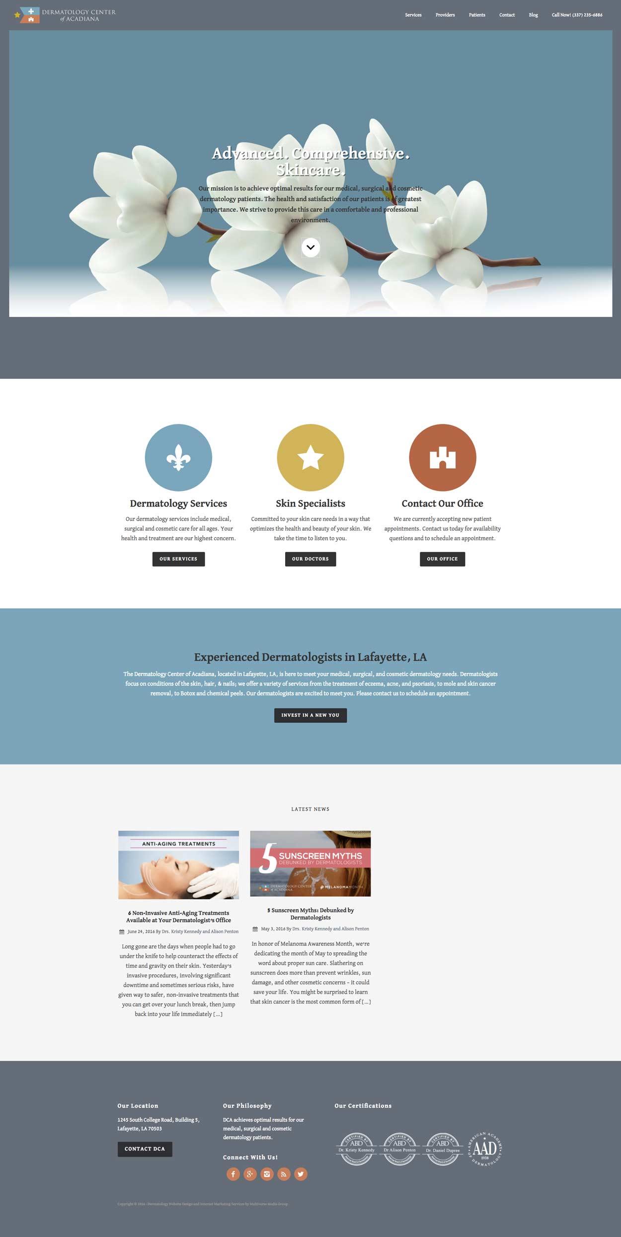 portfolio-web-dermcenteracadiana
