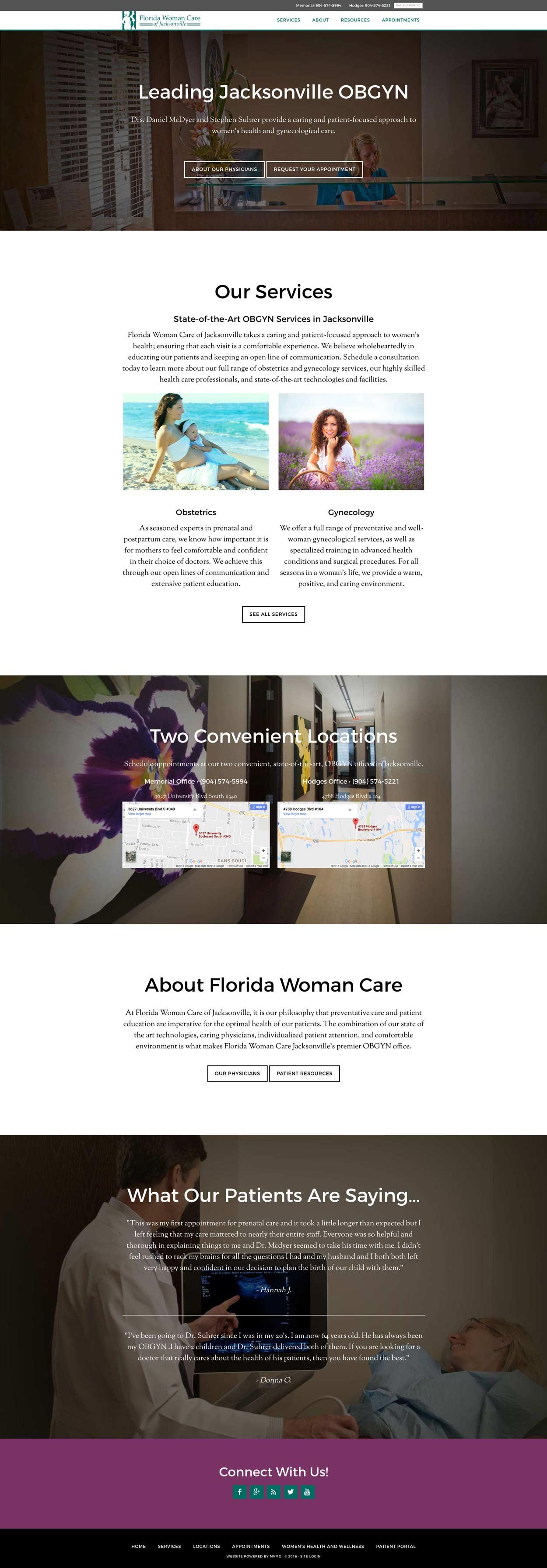 OBGYN portfolio case study web
