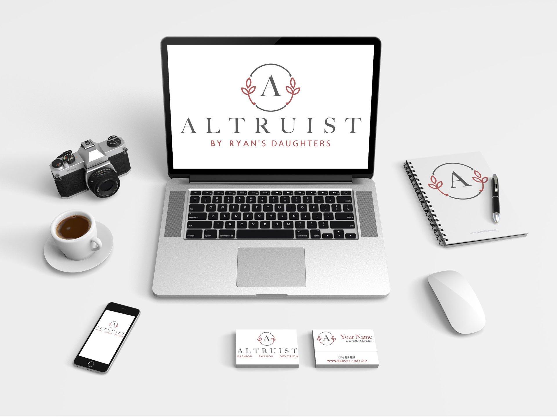 altruist logo design