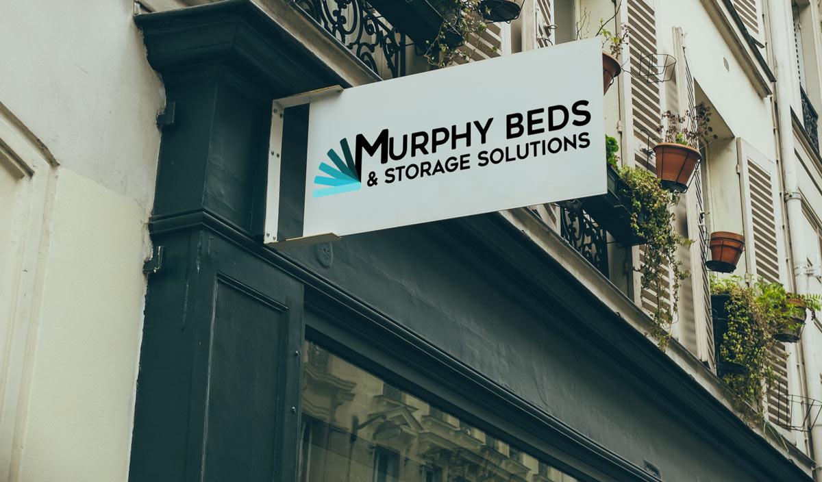 murphy beds logo design
