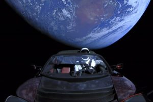 Tesla in space marketing strategy