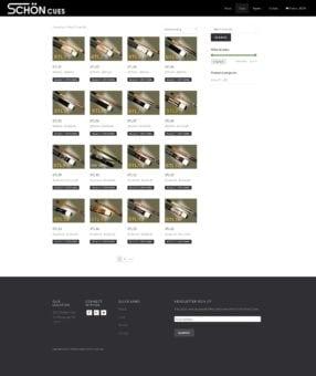 schon cues shop after multiverse website redesign