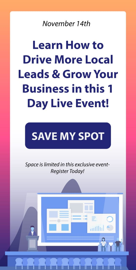 local marketing event