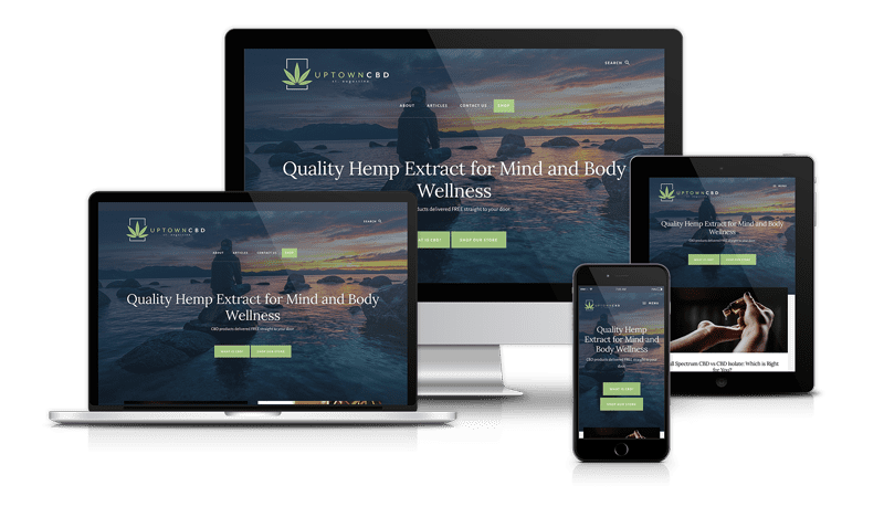 responsive modern website design