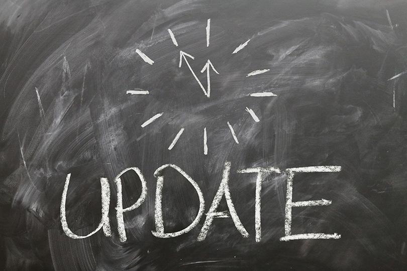 update blog content