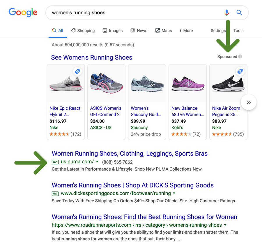 ppc ads in google