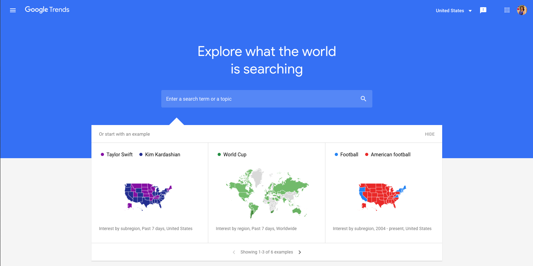 data driven marketing google trends